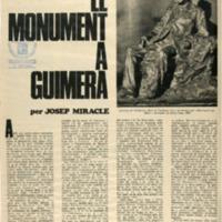 El monument a Guimerà