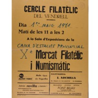 Xè Mercat Filatèlic i Numismàtic<br /><br />