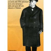 Àngel Guimerà (1845-1924) : Exposició commemorativa del 150è aniversari de la seva naixença i dels cent anys del seu discurs a l'Ateneu