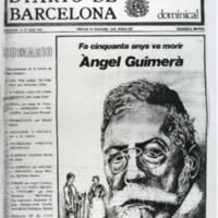 Fa cinquanta anys va morir Àngel Guimerà
