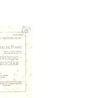 Recital de piano por el insigne pianista hijo predilecto de esta villa Bienvenido Socias <br /><br />