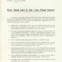 """Premi """"Estudi sobre la vida i obra d'Angel Guimerà"""""""