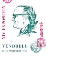 XIV Exposición Filatélica : Vendrell 16-18 noviembre 1975<br /><br />