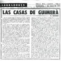 Las casas de Guimerá
