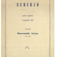 Scherzo para piano<br /><br />