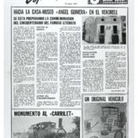 """Hacia la casa-museo """"Ángel Guimerá"""" en el Vendrell : se está preparando la conmemoración del cincuentenario del famoso literato"""