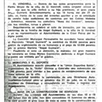 """El Vendrell: donación a la villa de la """"casa pairal"""" de Ángel Guimerá"""