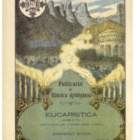 Eucarística (Sobre el pit) : solo o chor amb acompanyament d&#039;orgue<br /><br />