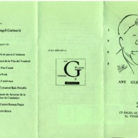Any Guimerà : Del 2 al 6 de maig