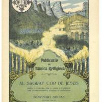 Al Sagrat Cor de Jesús : dues lletretes per a chor a l&#039;uníson amb acompanyament d&#039;orgue o harmònium<br /><br />