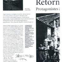 Retorn a Terra Baixa : protagonistes i  paisatges del drama de Guimerà