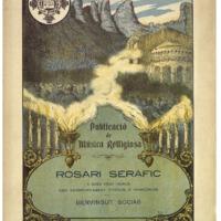 Rosari seràfic : a dues veus iguals amb acompanyament d&#039;orgue o harmònium <br /><br />