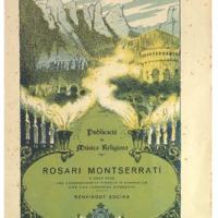 Rosari Montserratí : a dues veus amb acompanyament d&#039;orgue o harmònium : (amb 5 avemaries diferents)<br /><br />